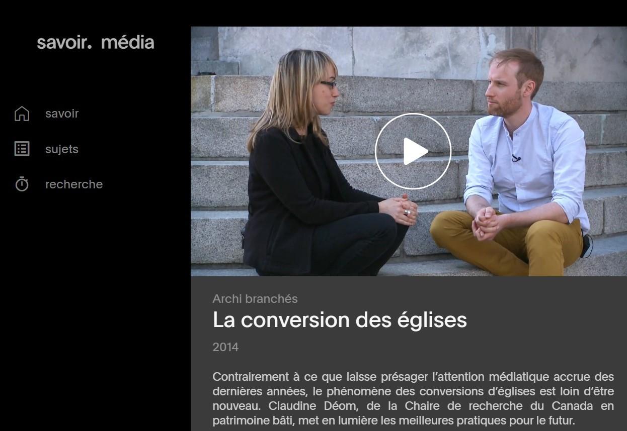 Émission Archi branchés - Savoir Média