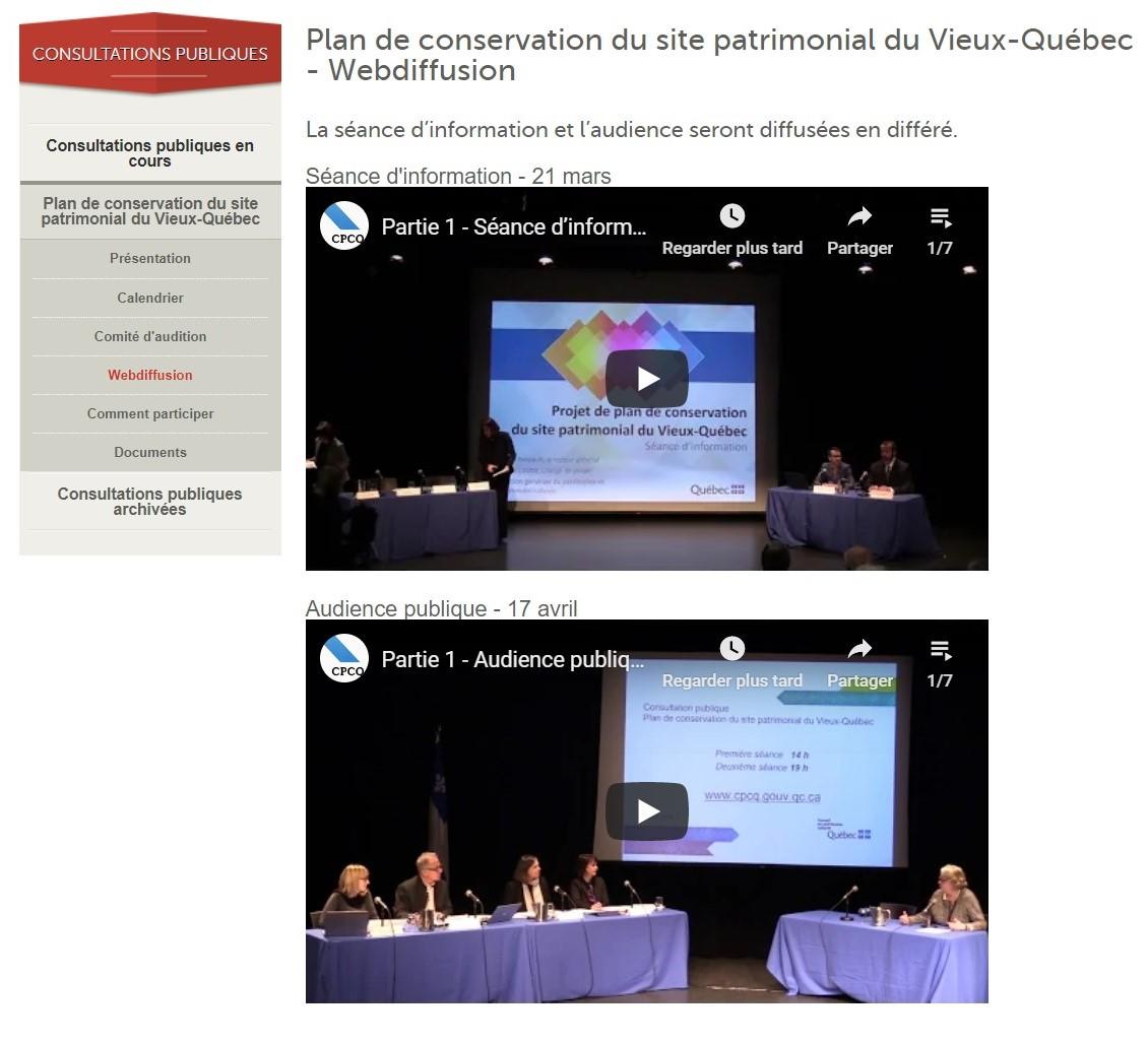 - Conseil du patrimoine culturel du Québec