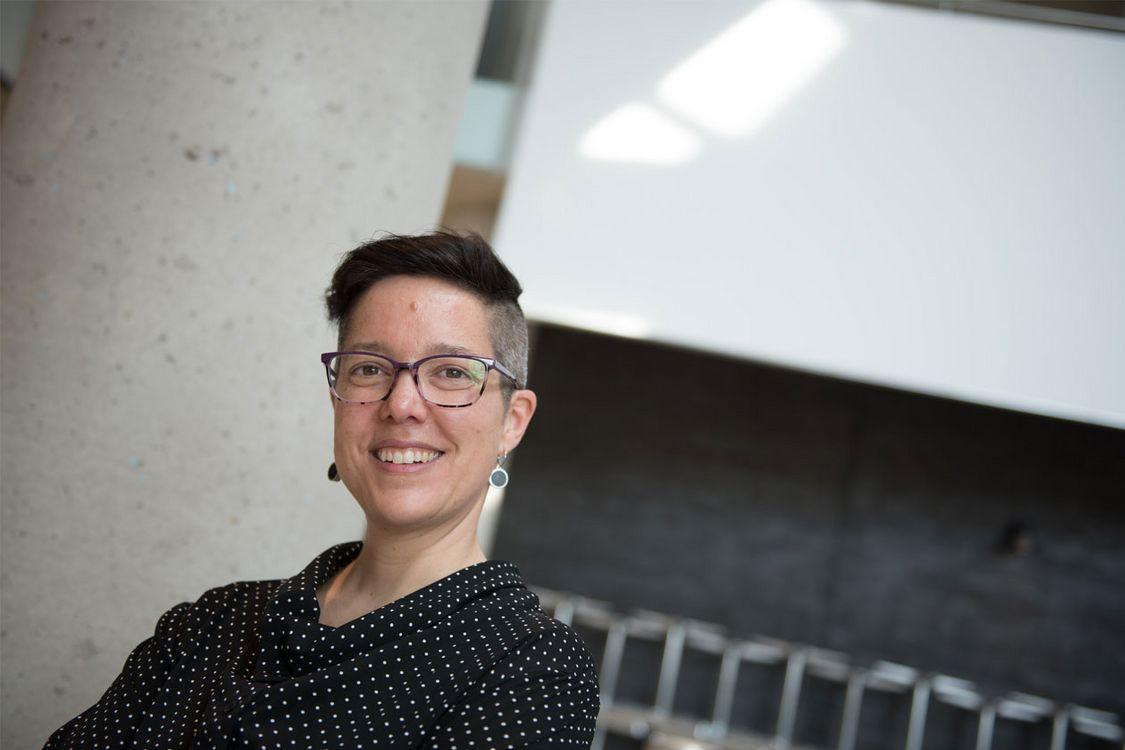 Danielle Labbé - récipiendaire du prix d'excellence en enseignement 2017 de l'UdeM, catégories encadrement aux cycles supérieurs