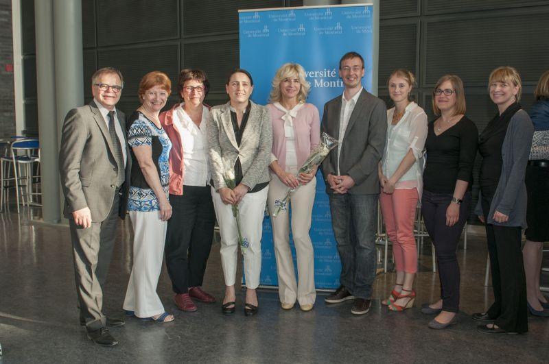 Le projet Web TAVIE dirigé par José Côté a été primé dans la catégorie Innovations technologiques lors de la Cérémonie Bravo à nos chercheurs (6 mai 2015)