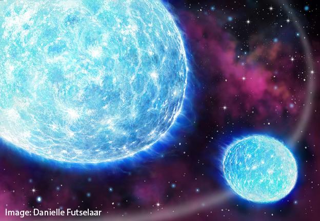Des chercheurs découvrent le plus grand battement de cœur stellaire grâce au plus petit télescope spatial. - CRÉDIT : ILLUSTRATION DE DANIELLE FUTSELAAR.