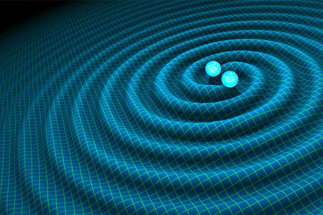 «Pour comprendre qu'un astre peut faire onduler l'espace, il faut visualiser l'espace comme un tissu élastique qui s'étire ou se contracte selon le mouvement d'un objet qui serait déposé à sa surface», explique Mme Hlavacek-Larrondo.